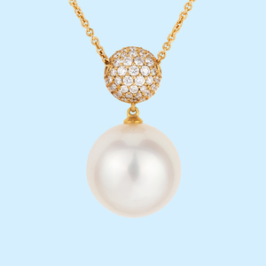 Champagne South Sea Pearl Pendant